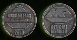 Limited Edition Mission Park Medallions