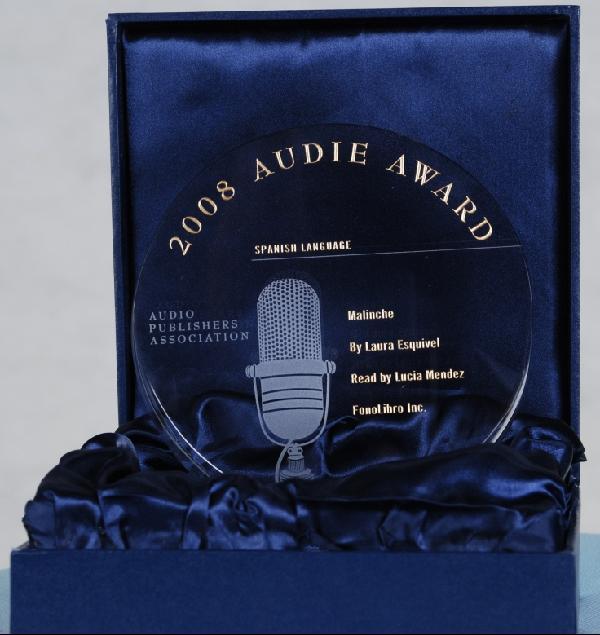 FonoLibro - Nominada para Premios Audies