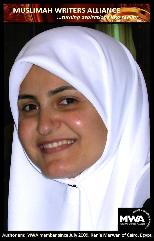 Author, Rania Marwan of Cairo, Egypt