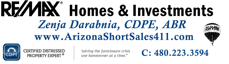 Arizona Short Sales - Avoid Foreclosure - CDPE