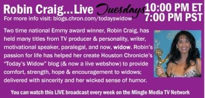 Robin Craig LIVE on Mingle Media TV