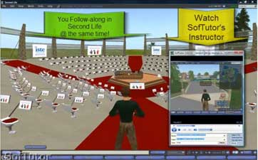 SofTutor Second Life (academic) - Quick, Follow Along, Learn by Doing training!
