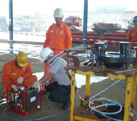 Bolt tensioning training in Singapore