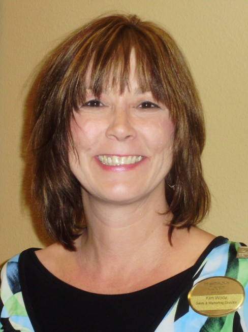 Kim Woda, director of sales and marketing for Hawthorn Court