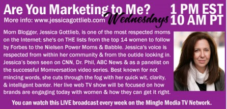 Mingle Media Web Show: Are You Marketing to Me with Jessica Gottlieb