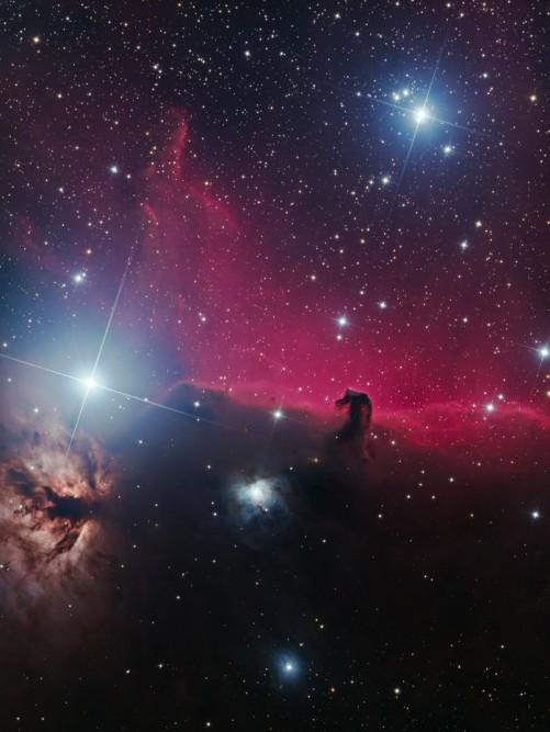 Horsehead Nebula by Ryan M. Hannahoe