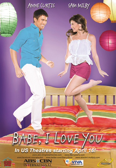 "Sam Milby and Anne Curtis sizzle in ""Babe, I Love You"""