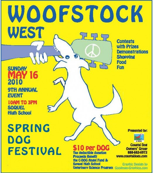 Woofstock West @ The Spring Dog Festival