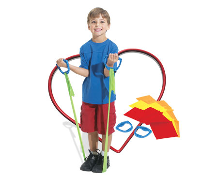 Kids Fitness with Body Bands