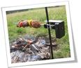 Auspit Outdoor Rotisserie Basic Kit