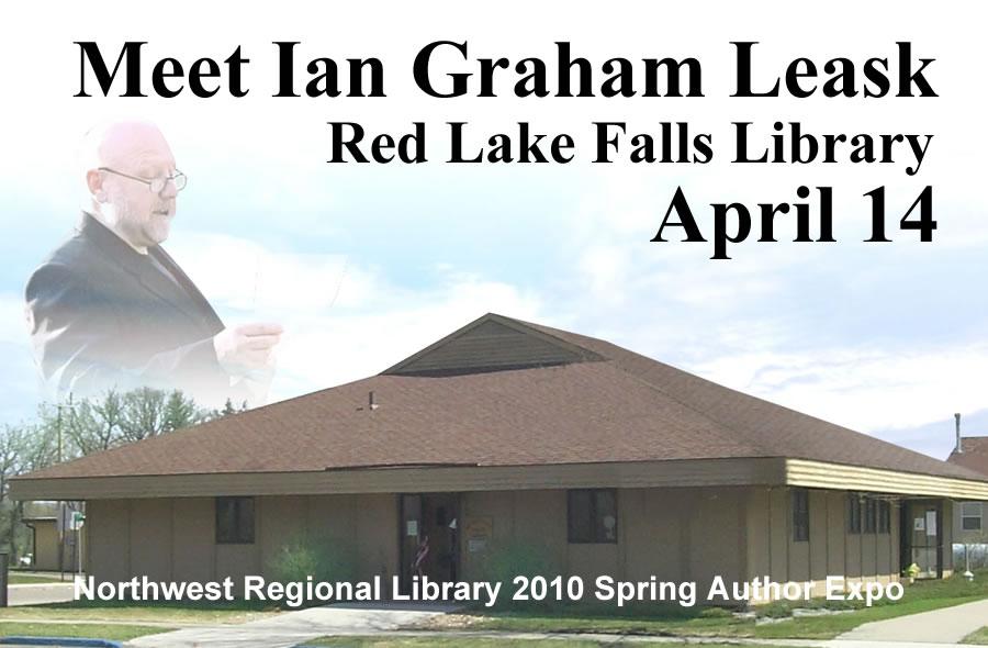 Ian Graham Leask in Red Lake Falls