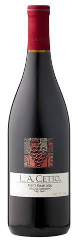 L.A.Cetto Petite Sirah wine image