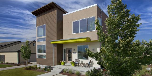 Green homes in Utah