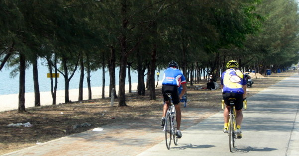 Cycling to Phuket, Thailand from Hanoi, Vietnam