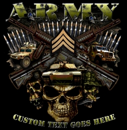 Vision Strike Wear Com Releases New Army Rank Military T
