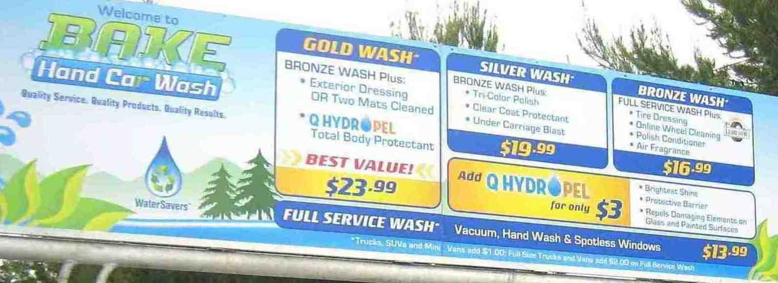 Pacific Hand Car Wash Coupons