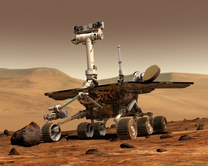 Mars rover (courtesy of NASA)