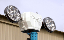 K&H Industries LED StarBeam dual-lamphead remote control spotlight