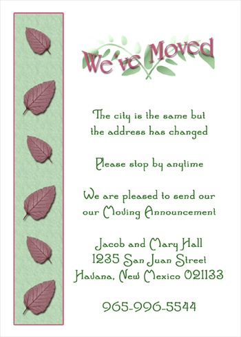 ... - Housewarming Invitations - Open House Party Invitations   PRLog