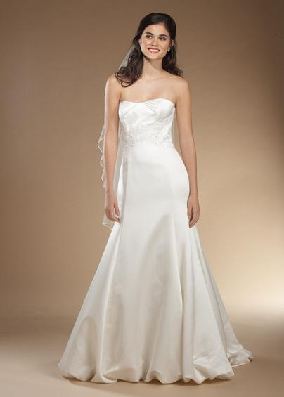 Recommend a wtoo style wedding dress bubble skirt chapel for Bubble skirt wedding dress