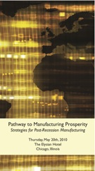 MACHINES ITALIA PATHWAY TO MANUFACTURING PROSPERITY CONFERENCE May 20th Chicago