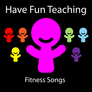 Fitness Songs CD by Have Fun Teaching: Available on iTunes and Amazon