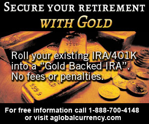 Visit www.aglobalcurrency.com For a Free Investment Gold Guide
