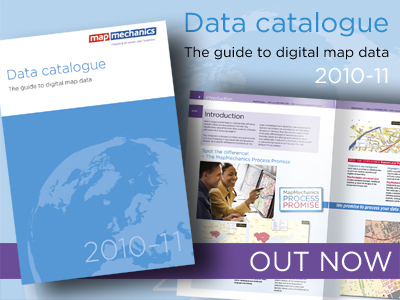 MapMechanics Data Catalogue 2010 - 11