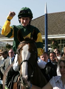 Jockey Paul Hanagan.