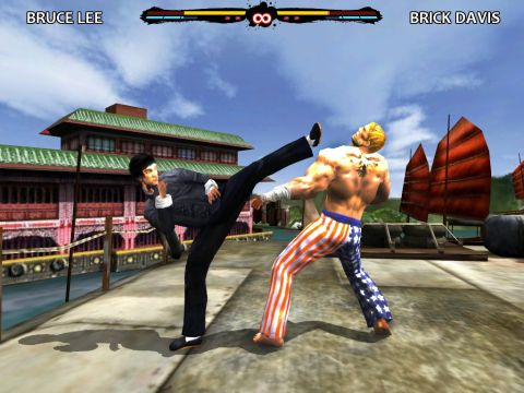Bruce Lee Dragon Warrior: Mobile App Game for Apple iPhone, iPad, and iPod Touch