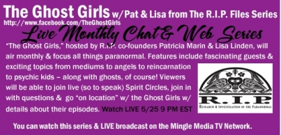 The Ghost Girls LIVE on Mingle Media TV