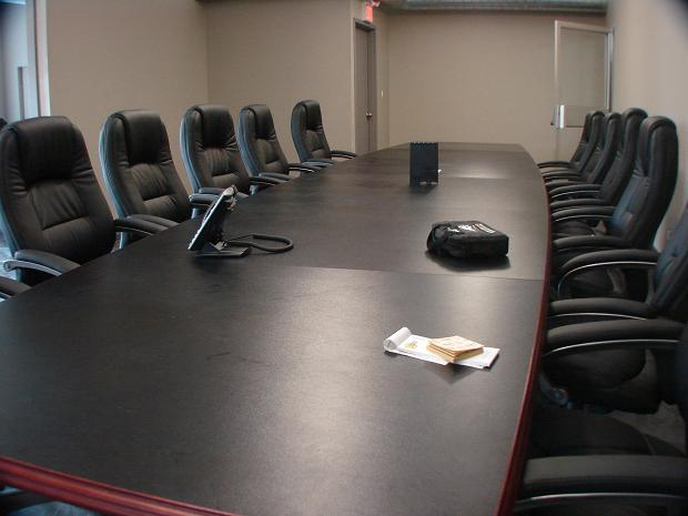 Large 22 seat Board at the Longbranch Centre for Business Excellence