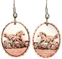 Handmade Earrings, Unique Handcrafted Jewelry, Horse Jewelry Earrings Wholesale