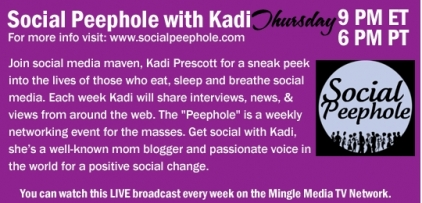 Social Peephole with Kadi on Mingle Media TV