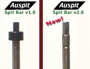 Auspit Rotisserie Spit Bar v1.0 vs. v2.0