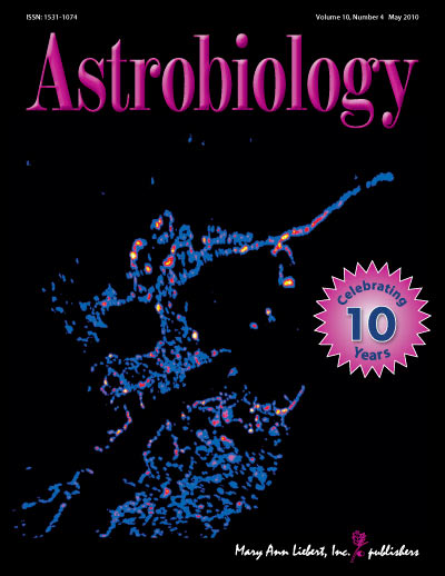 Astrobiology cover 10.4