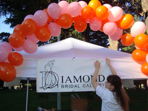 Diamond Bridal Gallery sponsoring Race for the Rock