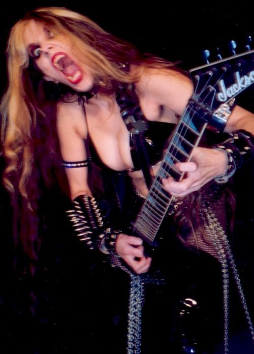 The Great Kat Guitar Shred Goddess