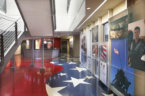 La area military facility receives leed gold certification - Interior design license california ...