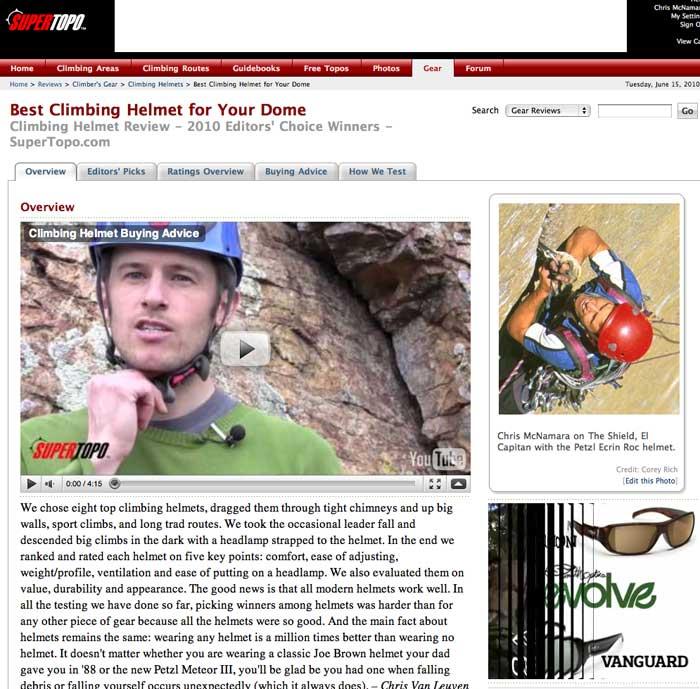 SuperTopo Helmet Review