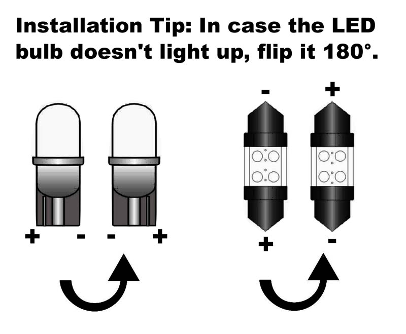 Issues when installing the car LED light bulbs -- iJDMTOY Automobile ...