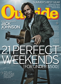 Outside Magazine June 2010 Cover