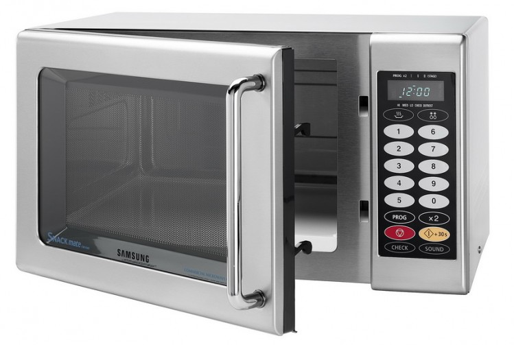 Snackmate from samsung professional appliances perfect for staff rooms