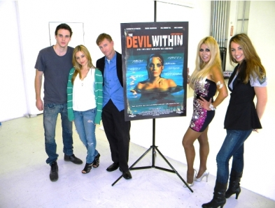 """Cast Members of """"The Devil Within"""" on EOE"""