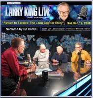 Filmmaker Steven C. Barber's RETURN TO TARAWA on Larry King Live
