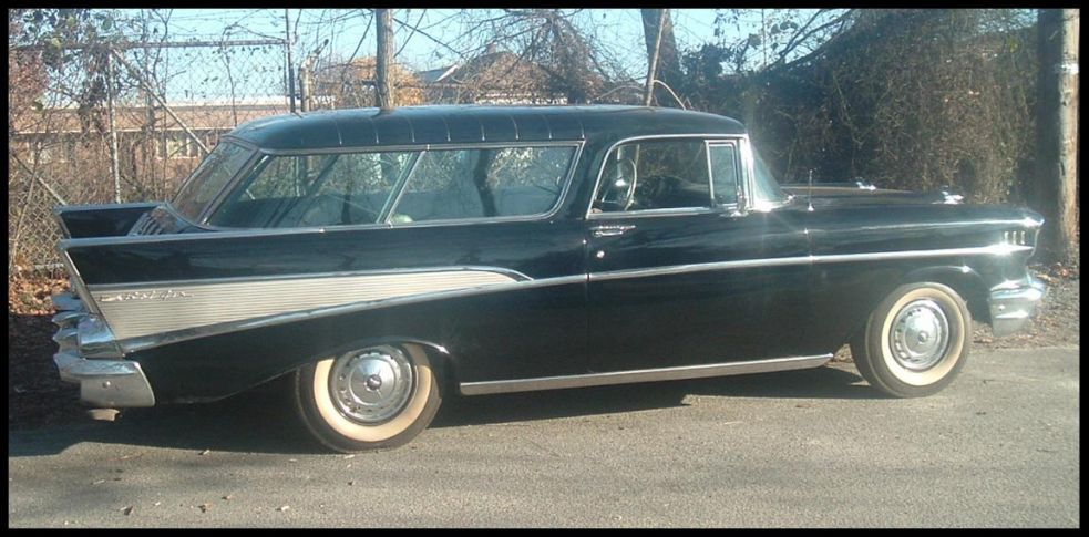 57 Chev Nomad For Sale | Autos Post
