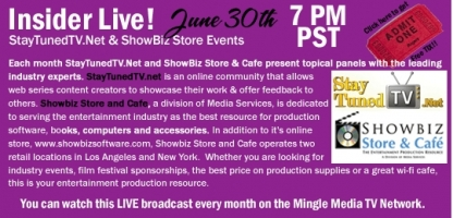 Insider Live! New MMTVN Web Series from StayTunedTV.Net & Showbiz Store & Cafe