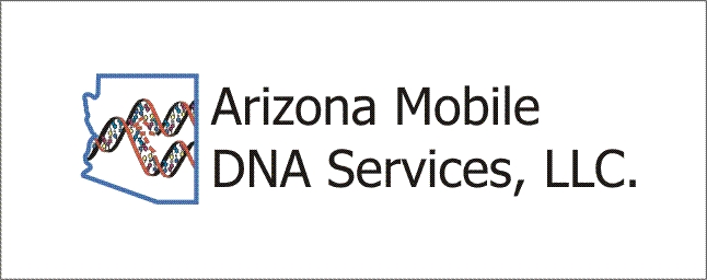 Arizona Mobile DNA Services' Logo