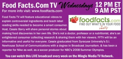 FoodFacts.com TV Web Series on Mingle Media TV