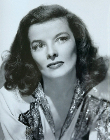 Katharine Hepburn in a publicity shot from The Philadelphia Story